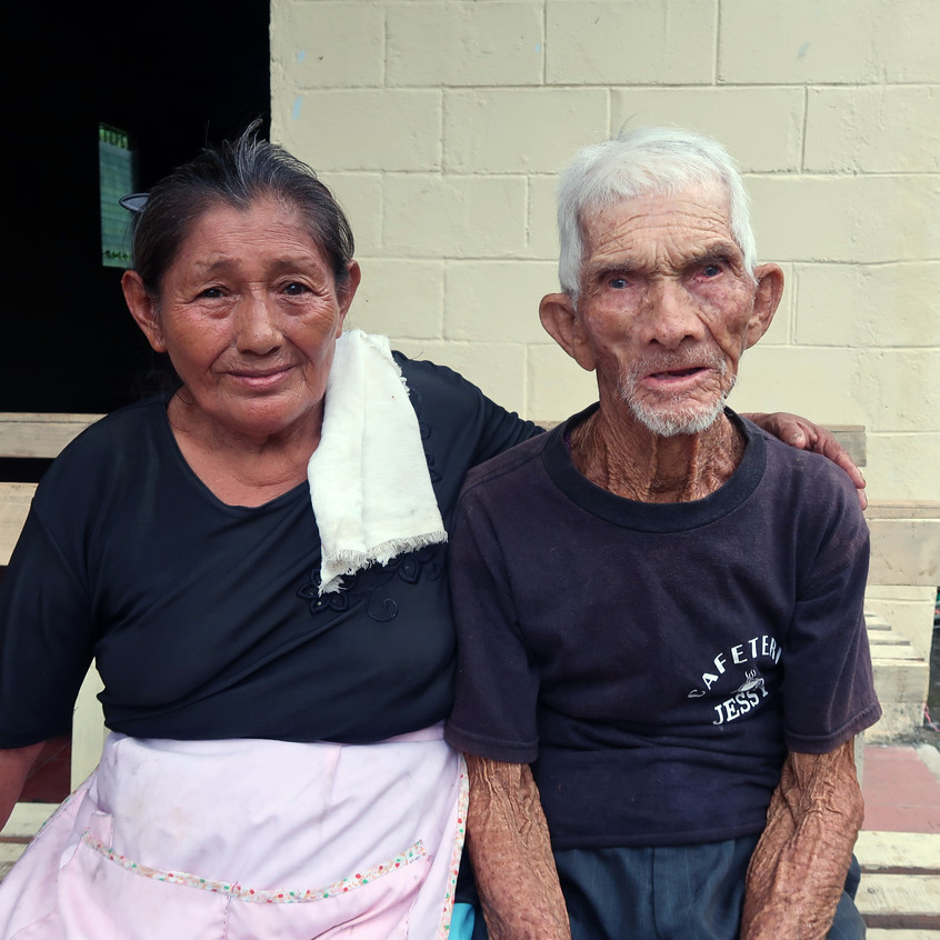 Oldest couple in community