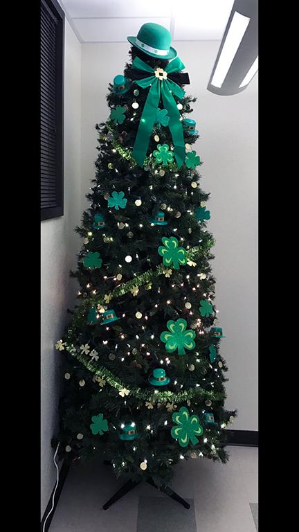 St Patrick's Day Tree