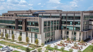 CUSTODIAL SUCCESS AT THE NEW ZACHRY ENGINEERING EDUCATION COMPLEX