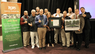 TEXAS A&M UNIVERSITY/SSC SERVICES FOR EDUCATION GROUNDS DEPARTMENT RECEIVES GRAND AWARD
