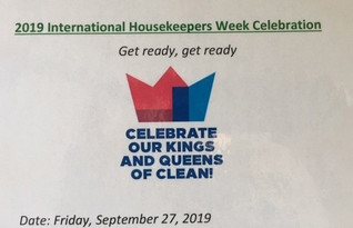THE INTERNATIONAL HOUSEKEEPERS WEEK CELEBRATION FOR SSC CUSTODIAL