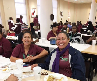 CUSTODIAL SERVICES HOSTS HOLIDAY LUNCHEON