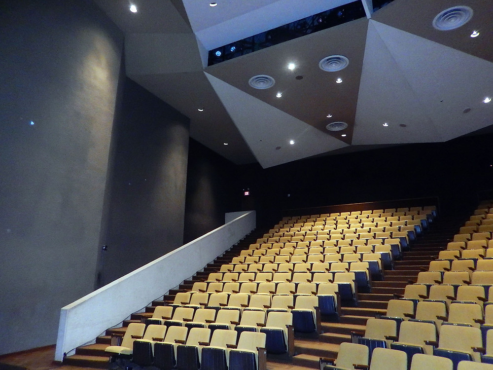 Rudder Theater Before Renovations
