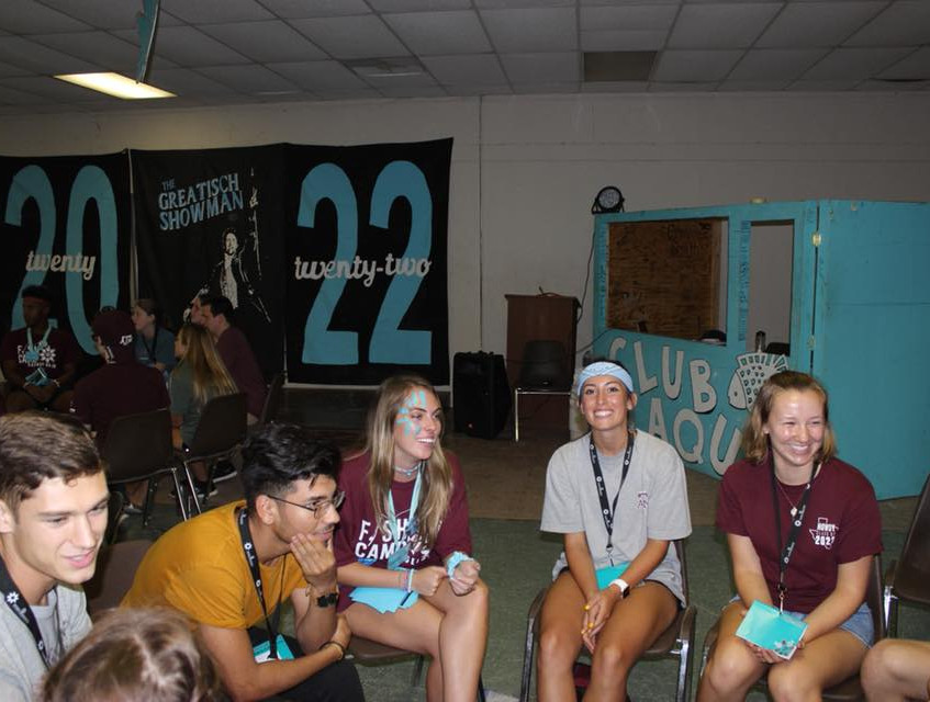 camp in action-discussion group