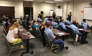 MAINTENANCE PROVIDES CPR/FIRST AID TRAINING