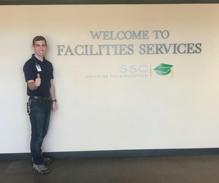 FAREWELL TO STUDENT WORKER NATHAN SEAGO