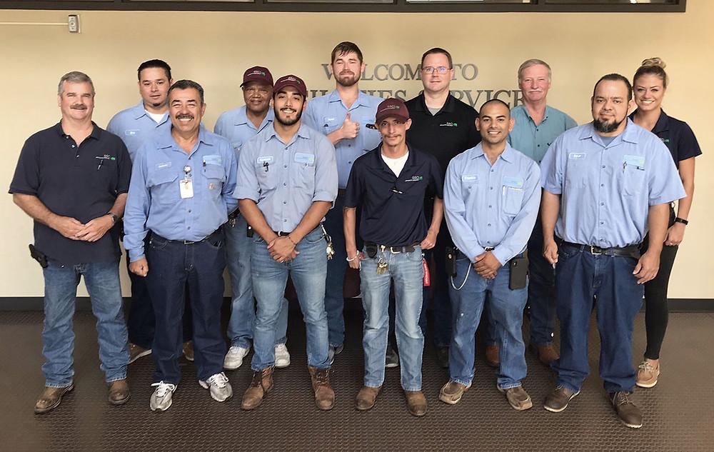 SSC MAINTENANCE CREW RESTORES POWER TO PETERSON BUILDING