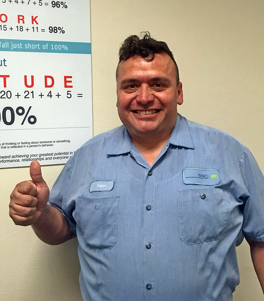 Pablo Quiroz, SSC Maintenance Zone B
