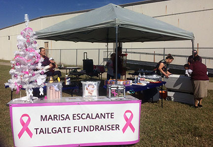 Marisa Escalante Tailgate Fundraiser