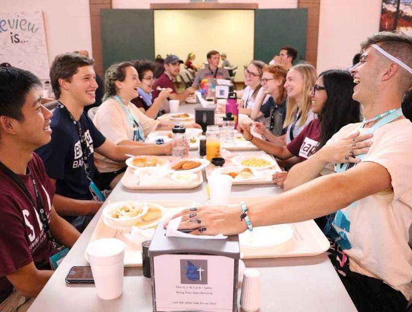 Camp Tisch-mealtime