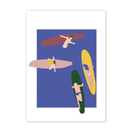 Paper-Collective-Surfers-Poster-50-x-70-