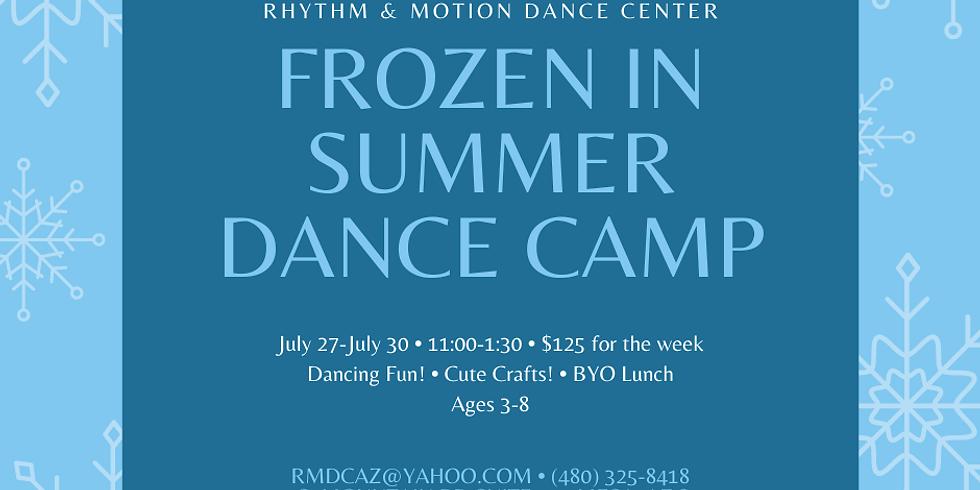Frozen in Summer Dance Camp July 27-30