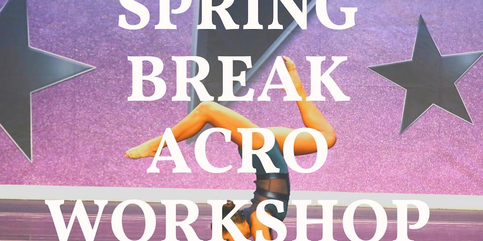 Spring Break Acro Workshop