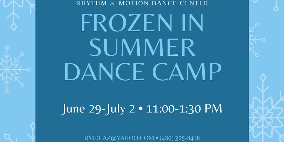 Frozen in Summer Camp June 29-July 2