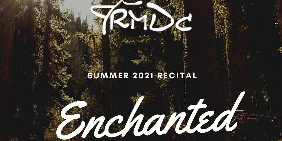 Summer Recital Character Auditions