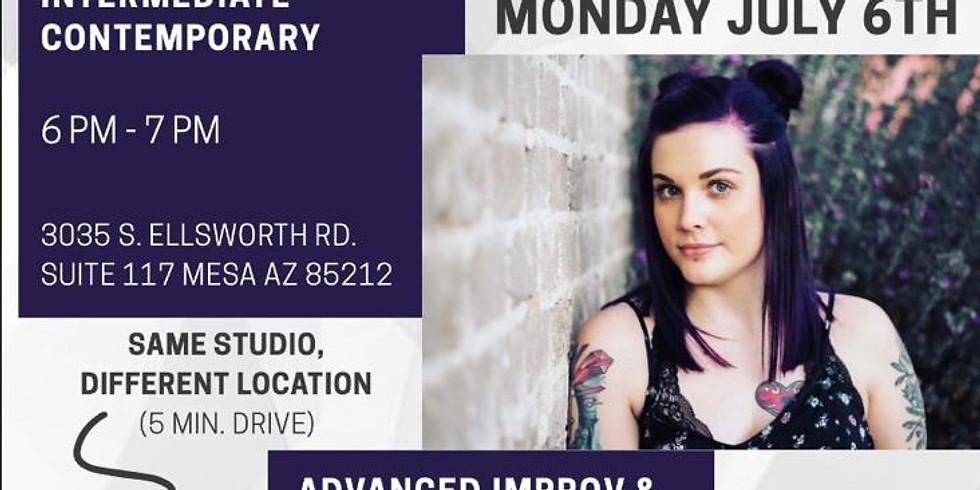 Advanced Improv & Contemporary Choreography with Courtney Skye