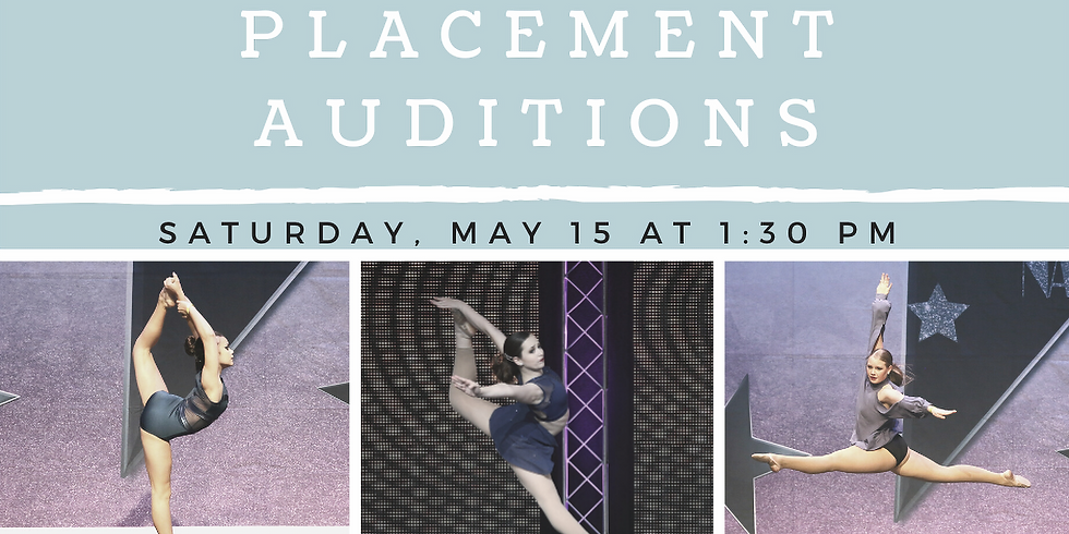 2021/2022 Placement Auditions