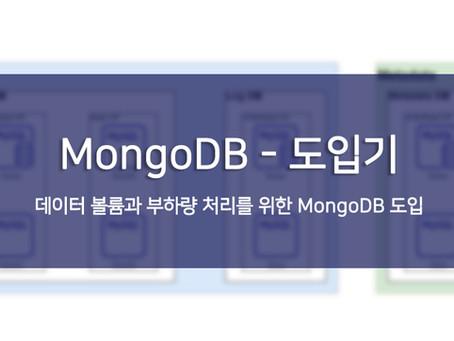 MongoDB - 도입기