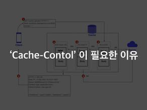 'Cache-Control'이 필요한 이유