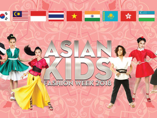 Asian kids fashion week2018,vietnam