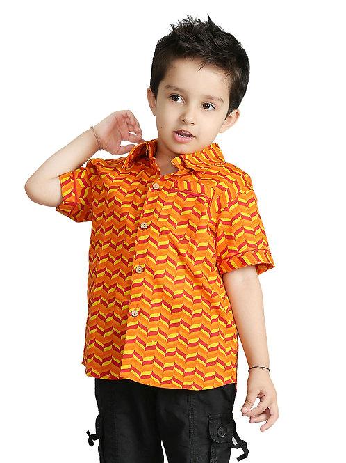 Boy's cotton shirt