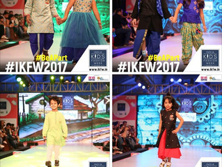 Collection launch at  India Kids fashion week 2017
