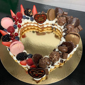 Heart cake 4€/pers
