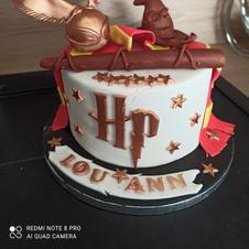 cake design thème harry potter