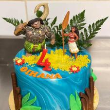 cake design thème Vahiana