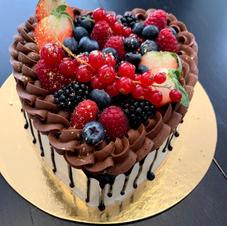 drip cake coeur