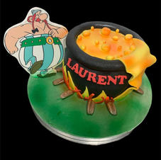 cake design thème asterix