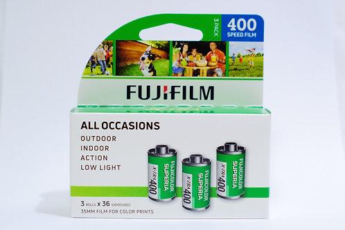 Fujifilm Superia X-TRA 400
