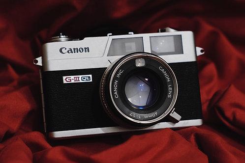 Canon G-III QL17 Rangefinder
