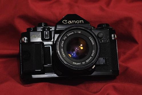 Canon A1 w 50mm f1.8