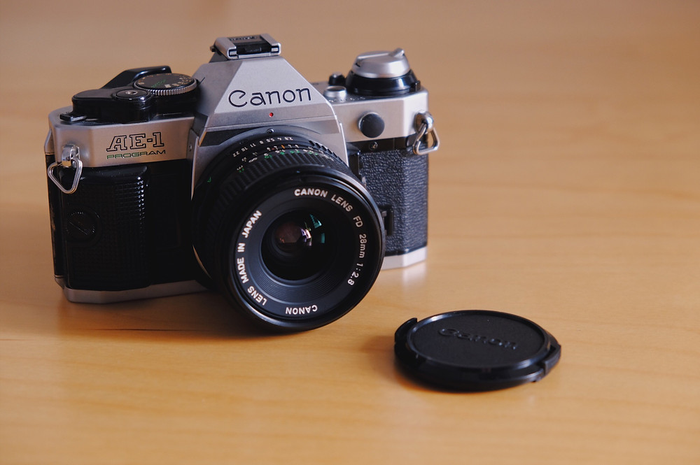Canon AE-1 Program with Canon 28mm f2.8