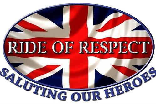 2020 RIDE OF RESPECT REGISTRATION