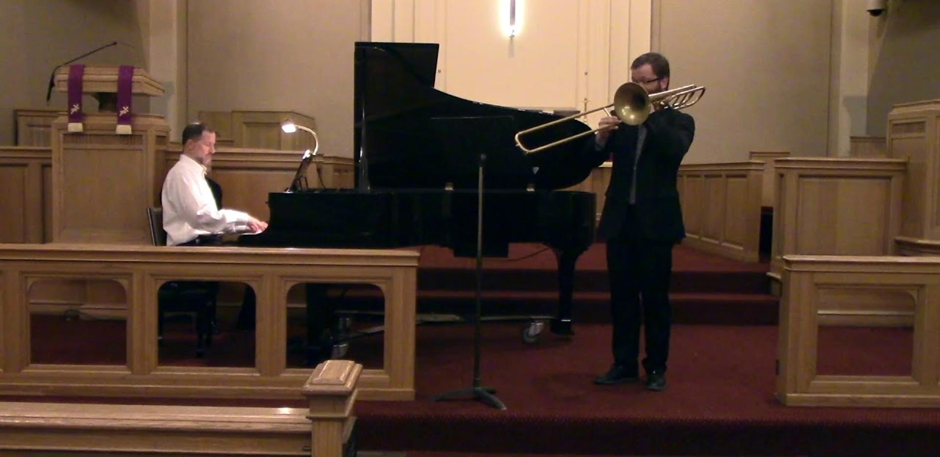 "Trombone Sonata ""Vox Gabrieli"" - Stjepan Sulek"