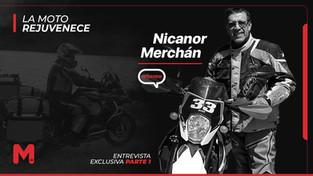 """""""Dicen que la moto rejuvenece... y eso sí es verdad"""" - Nicanor Merchán"""
