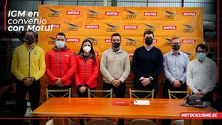 IGM / Motul un acuerdo inédito en Ecuador