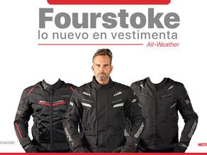 Fourstroke presenta lo nuevo en vestimenta para motociclistas