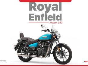 Royal Enfield presentó la Meteor 350