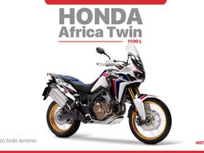 Honda CRF 1100L Africa Twin 2021...  Moto para cualquier terreno