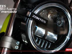 ZONTES... una marca con fuerza en la media y baja cilindrada