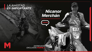 """Entrevista Nicanor Merchán parte 2. """"Sobre la moto hay que hacer las cosas con respeto"""""""