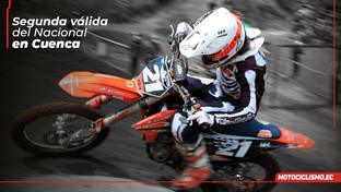 Cuenca lista para la segunda carrera del Nacional de MX