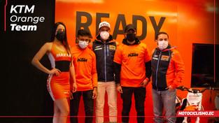 El team de KTM dio un show de stunt en Cuenca