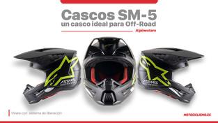 Alpinestars SM-5, un casco ideal para empezar el Off-Road