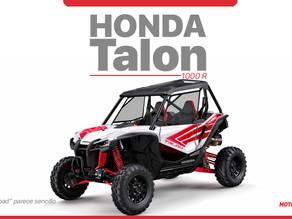 """Honda Talon 1000R, para que el """"Off-Road"""" parezca sencillo"""
