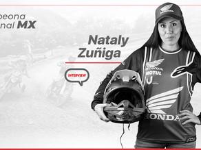 Nataly Zuñiga Barba: Motociclista contra viento y marea