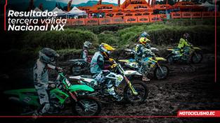 Resultados completos del Nacional de Motocross en pichincha